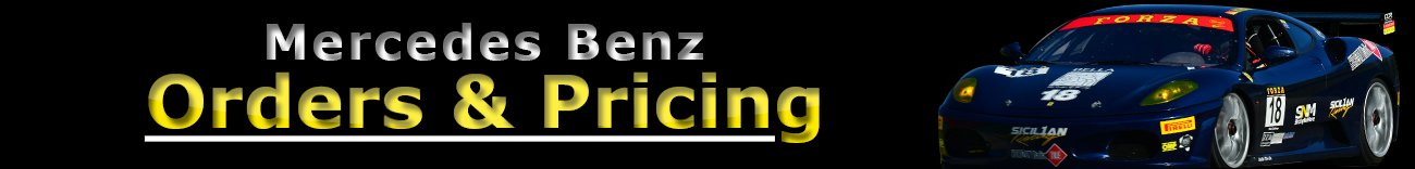 Mercedes Benz sticky parts refinishing pricing